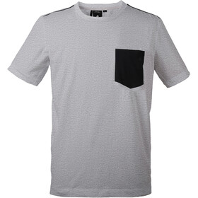 DIDRIKSONS Denny T-Shirt Homme, grey melange